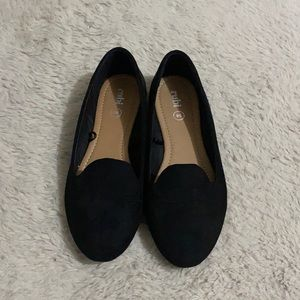 Classic black loafers